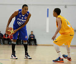 Bristol Flyers' Doug Herring - Photo mandatory by-line: Nizaam Jones/JMP - Mobile: 07966 386802 - 08/11/2014 - SPORT - Basketball - Bristol - SGS Wise Campus - Bristol Flyers v Sheffield Sharks - British Basketball League