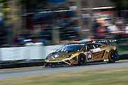 October 3-5, 2013. Lamborghini Super Trofeo - Virginia International Raceway. #18 Ryan Ockey, Dragonspeed Racing, Lamborghini of Miami