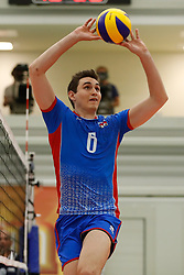 20170525 NED: 2018 FIVB Volleyball World Championship qualification, Koog aan de Zaan<br />Filip Palgut (6) of Slovakia <br />©2017-FotoHoogendoorn.nl / Pim Waslander