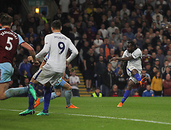 Victor Moses of Chelsea (R) scores his sides second goal - Mandatory by-line: Jack Phillips/JMP - 19/04/2018 - FOOTBALL - Turf Moor - Burnley, England - Burnley v Chelsea - English Premier League