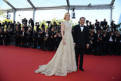 59687111 .Nicole Kidman with Ang Lee during the 'Nebraska' premiere poses at the 66th edition of the Cannes Film Festival in Cannes, southern France, May 23, 2013. Photo by: imago / i-Images. UK ONLY