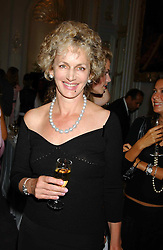 HARRIET SARGEANT at a party to celebrate the publication of 'Princesses' the six daughters of George 111 by Flora Fraser held at the Saville Club, Brook Street, London W1 on 14th September 2004.<br /><br />NON EXCLUSIVE - WORLD RIGHTS