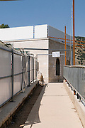 Israel, Upper Galilee, Amuka, Exterior of the grave of Yonatan ben Uziel, Pilgrimage site for believers seeking a spouse or marriage