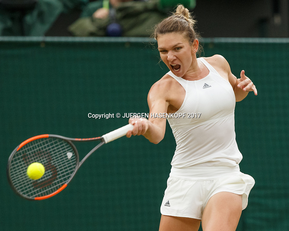 SIMONA HALEP (ROU)<br /> <br /> Tennis - Wimbledon 2017 - Grand Slam ITF / ATP / WTA -  AELTC - London -  - Great Britain  - 11 July 2017.