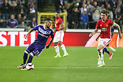 Anderlecht Midfielder Nicolae Stanciu during the UEFA Europa League Quarter-final, Game 1 match between Anderlecht and Manchester United at Constant Vanden Stock Stadium, Anderlecht, Belgium on 13 April 2017. Photo by Phil Duncan.
