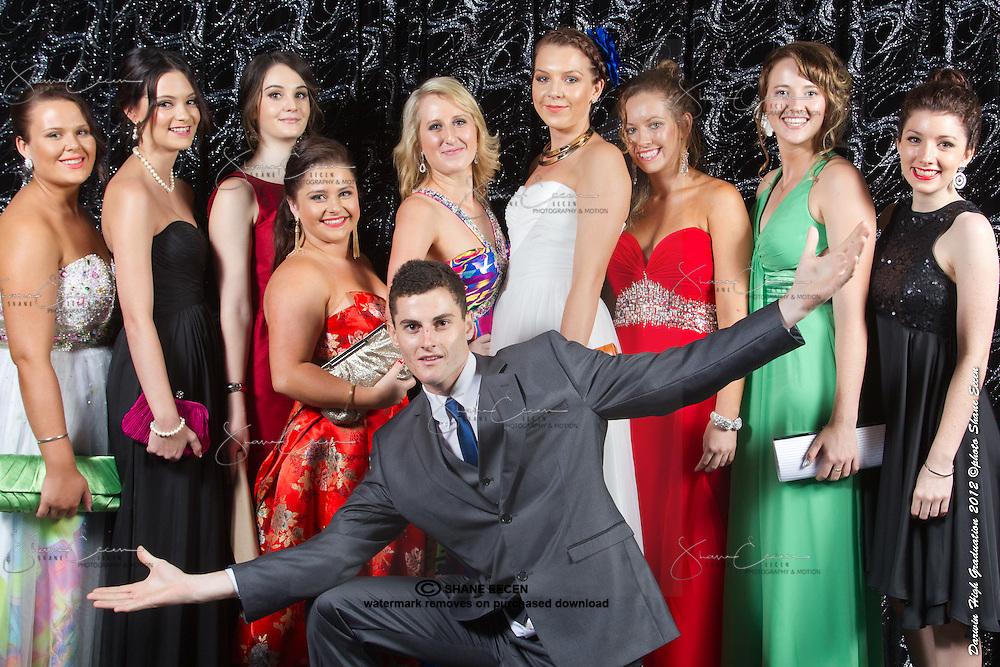 Darwin High School Formal Graduation. 19 November 2012. Photo Shane Eecen