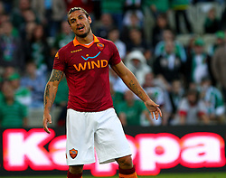 17.07.2012, Gerhard Hanappi Stadion, Wien, AUT, Testspiel, SK Rapid Wien vs AS Roma, im Bild Pablo Daniel Osvaldo, (AS Roma, #9) // during Test Match, between SK Rapid Vienna and AS Roma at the Gerhard Hanappi Stadion, Vienna, Austria on 2012/07/17. EXPA Pictures © 2012, PhotoCredit: EXPA/ Thomas Haumer