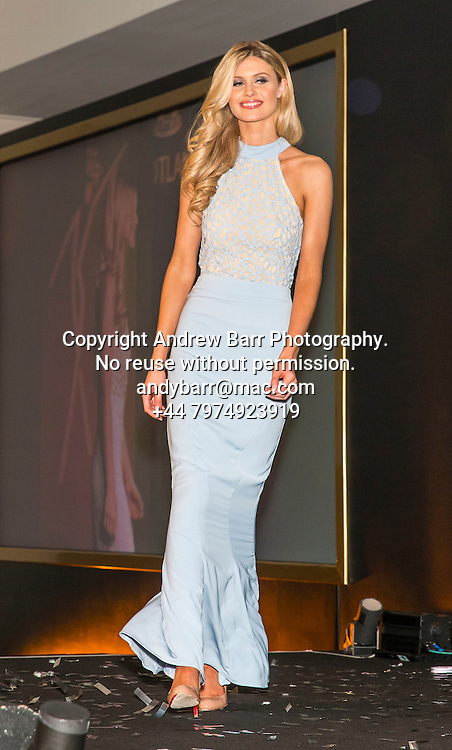 27-08-2015<br /> Miss Scotland 2015 final at Raddison Blu, Glasgow.<br /> <br /> Evening gowns - Rosie Lamont<br /> <br /> Pic:Andy Barr<br /> <br /> www.andybarr.com<br /> <br /> Copyright Andrew Barr Photography.<br /> No reuse without permission.<br /> andybarr@mac.com<br /> +44 7974923919