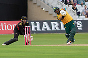 Samit Patel batting during the Vitality T20 Blast North Group match between Notts Outlaws and Leicestershire Foxes at Trent Bridge, West Bridgford, United Kingdon on 27 July 2019.