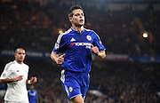 Cesar Azpilicueta in action during the Champions League group stage match between Chelsea and Dynamo Kiev at Stamford Bridge, London, England on 4 November 2015. Photo by Michael Hulf.