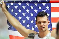 Friidrett<br /> VM 2007<br /> Osaka Japa<br /> 01.08.2007<br /> Foto: Dppi/Digitalsport<br /> NORWAY ONLY<br /> <br /> ATHLETICS - 11TH IAAF WORLD CHAMPIONSHIPS - 25/8/2007 > 2/9/2007 - OSAKA (JAP)<br /> <br /> MEN - POLE VAULT - BRAD WALKER (USA) / WINNER