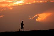 Sunset runner