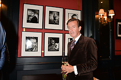 John Stoddart at the John Stoddart Exhibition at L'Escargot, Greek Street, London, UK on the 26th September 2017.
