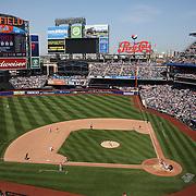 A general view of Citi Field during the New York Mets Vs Washington Nationals MLB regular season baseball game at Citi Field, Queens, New York. USA. 3rd May 2015. Photo Tim Clayton