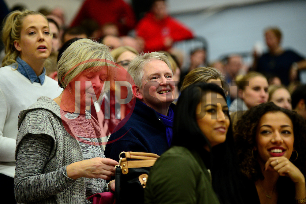Bristol Flyers fans - Photo mandatory by-line: Dougie Allward/JMP - 26/11/2016 - BASKETBALL - SGS Wise Arena - Bristol, England - Bristol Flyers v Newcastle Eagles - British Basketball League Championship