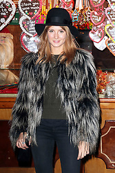 © Licensed to London News Pictures. 21/11/2013, UK.  Millie Mackintosh. Hyde Park Winter Wonderland VIP Opening, Hyde Park, London UK, 21 November 2013. Photo credit : Richard Goldschmidt/Piqtured/LNP