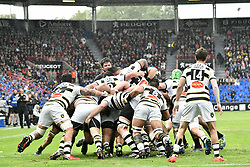 April 29, 2018 - Toulouse, France - Melee Toulouse vs La Rochelle (Credit Image: © Panoramic via ZUMA Press)
