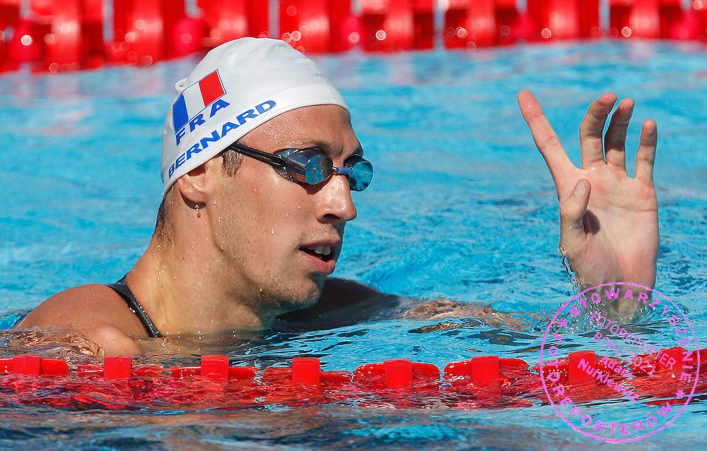 ROME 29/07/2009.13th Fina World Championships.Men's 100m Freestyle - Preliminary.Alain Bernard of France ..photo: Piotr Hawalej / WROFOTO