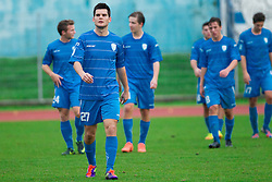 Alen Jogan of Gorica during football match between ND Gorica and NK Triglav in 16th Round of PrvaLiga NZS 2012/13 on November 3, 2012 in Nova Gorica, Slovenia. (Photo By Vid Ponikvar / Sportida)