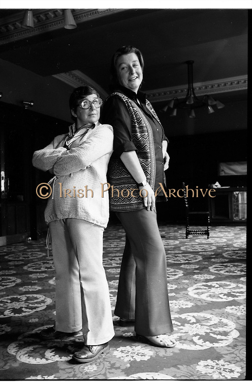 Maureen Potter & Marie Conmee, Gaiety Theatre Dublin, Ireland.  Shots of Maureen Potter  and Marie Conmee  Irish singer, actor, comedian and performer, actress, in  Dublin, Ireland.<br /> photo of Maureen Potter  and Marie Conmee  Irish singer, actor, comedian and performer, actress, in Dublin, Ireland. <br /> <br /> photos of Maureen Potter  and Marie Conmee  Irish singer, actor, comedian and performer, actress, in Dublin, Ireland.<br /> google images of Maureen Potter  and Marie Conmee  Irish singer, actor, comedian and performer, actress, in  Dublin, Ireland.<br /> photo images of Maureen Potter  and Marie Conmee  Irish singer, actor, comedian and performer, actress, in Dublin, Ireland. google images of Maureen Potter  and Marie Conmee  Irish singer, actor, comedian and performer, actress, in Dublin, Ireland.<br /> google images search of Maureen Potter  and Marie Conmee  Irish singer, actor, comedian and  performer, actress, in Dublin, Ireland.<br /> google image of Maureen Potter  and Marie Conmee  Irish singer, actor, comedian and performer, actress, in  in Dublin Ireland.