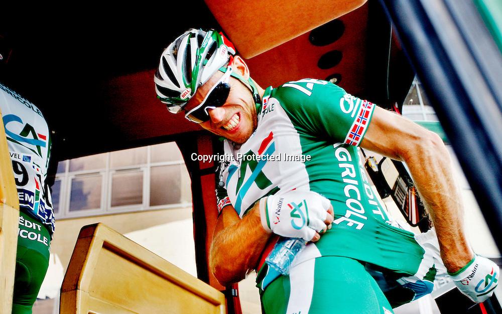 Canterbury, 20070708: Tour de France.Thor Hushovd ble nr. 2. på den første etappen på årets Tour de France. ....Foto: Daniel Sannum Lauten/Dagbladet *** Local Caption *** Hushovd,Thor