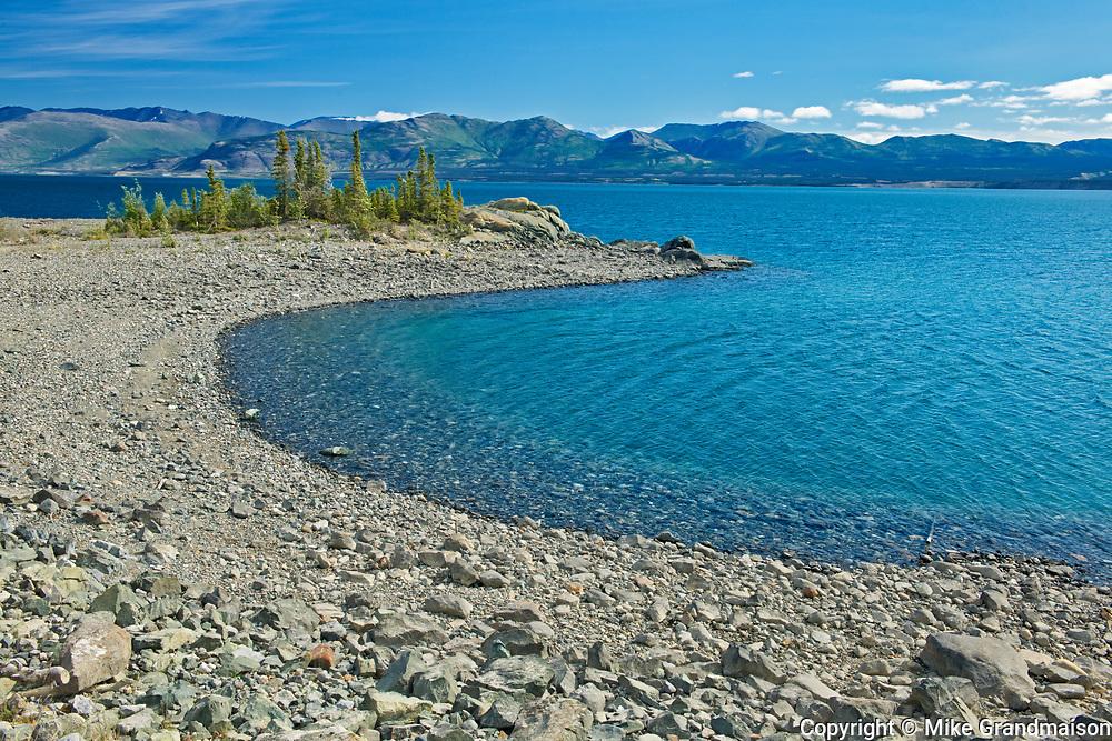 Ruby Ranges in Kluane Lake<br /> , Kluane National Park, Yukon, Canada