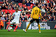 Eric Dier of England crossing the ball during the FIFA World Cup Qualifier group stage match between England and Lithuania at Wembley Stadium, London, England on 26 March 2017. Photo by Matthew Redman.