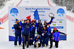 French Team, Women's Slalom at the WPAS_2019 Alpine Skiing World Championships, Kranjska Gora, Slovenia