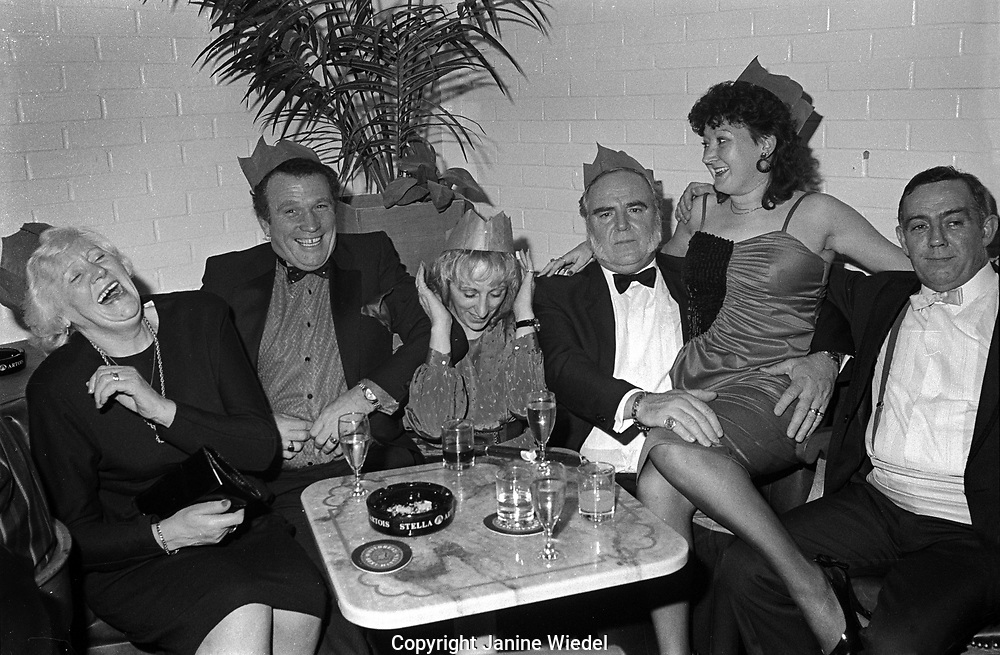 Women's Night at men's club over Christmas time 1989