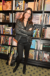 JULIA BRADBURY at a party to celebrate the publication of How I Met My Son by Ros Powell held at Hatchards, 187 Piccadilly, London on 11th February 2016.
