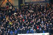 Greenock Morton fans celebrate Michael Tidser's equaliser - Dundee v Greenock Morton, William Hill Scottish Cup 5th Round at Dens Park .. - © David Young - www.davidyoungphoto.co.uk - email: davidyoungphoto@gmail.com