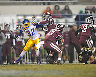 Oxford High's J.R. Anderson (32) vs. Picayune in the MHSAA Class 5A championship game at Mississippi Veterans Memorial Stadium in Jackson, Miss. on Saturday, December 7, 2013.