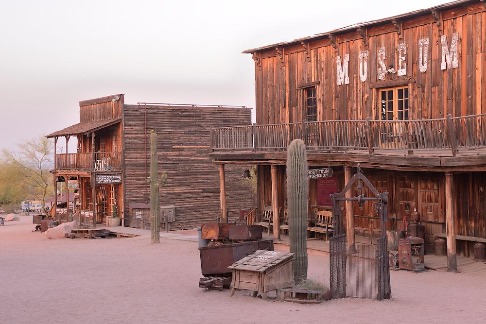 Goldfiel Ghost Town, Phoenix,Arizona, USA