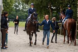Scholtens Emmelie, NED, Apache<br /> Nederlands Kampioenschap Dressuur <br /> Ermelo 2017<br /> © Hippo Foto - Dirk Caremans<br /> 16/07/2017