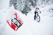 during stage 5 of the first Snow Epic, the Trübsee climb near Engelberg, in the heart of the Swiss Alps, Switzerland on the 17th January 2015<br /> <br /> Photo by:  Nick Muzik / Snow Epic / SPORTZPICS