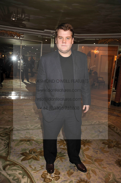 JAMES CORDEN at the 2009 South Bank Show Awards held at The Dorchester, Park Lane, London on 20th January 2009.