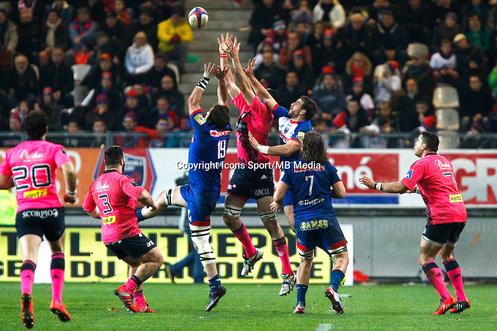 Sergio PARISSE - 19.12.2014 - Grenoble / Stade Francais - 13eme journee de Top 14 -<br />Photo : Jack Robert / Icon Sport