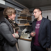13.03.2017<br /> Canteen, Mallow street hosted The Steam of a Perfect Coffee an investiaftion into STEAM (Science, Technology, Engineering, Art and Mathematics) of the perfect cup of Coffee. <br /> Pictured at the event were, Justin Browne and Dr. Christopher Hendon, MIT.<br /> Picture: Alan Place