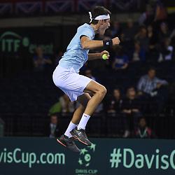 Great Britain v Uzbekistan, Davis Cup World Group Play-Offs, Glasgow, 14 September 2018