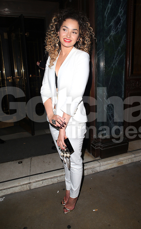 Ella Eyre atttends the British Fashion Awards After Party at Cafe Royal in London, UK. 01/12/2014<br />BYLINE MUST READ : JAMESY/GOTCHA IMAGES<br /><br />Copyright by &copy; Gotcha Images Ltd. All rights reserved.<br />Usage of this image is conditional upon the acceptance <br />of Gotcha Images Ltd, terms and conditions available at<br />www.gotchaimages.com