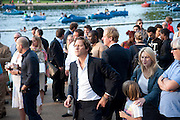 ARPAD BUSSON, Chucs Dive & Mountain Shop charity Swim Party: Lido at The Serpentine. London. 4 July 2011. <br /> <br />  , -DO NOT ARCHIVE-© Copyright Photograph by Dafydd Jones. 248 Clapham Rd. London SW9 0PZ. Tel 0207 820 0771. www.dafjones.com.