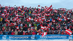06.01.2011, Paul Ausserleitner Schanze, Bischofshofen, AUT, Vierschanzentournee, Bischofshofen, Finale, im Bild // Feature von den Fans im Zielstadion // during the 59th Four Hills Tournament Final in Bischofshofen, EXPA Pictures © 2011, PhotoCredit: EXPA/ J. Groder