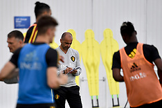 Belgium Team Training and Press Conference - 16 June 2018