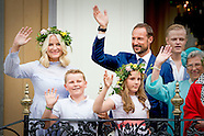 Norwegian Royals in Trondheim to celebrate 25th jubilee to the throne of King Harald & Queen Sonja o