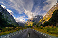 On the road to Milford Sound.