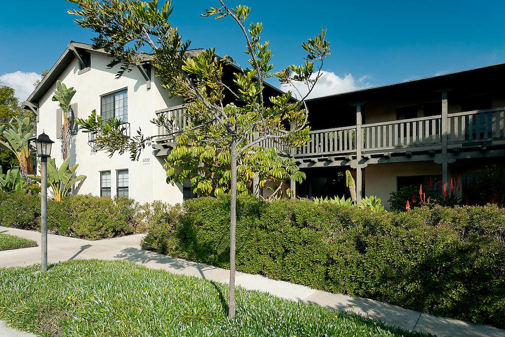 1012 - 1024 East de la Guerra,  Casitas de la Guerra, HACSB, Santa Barbara, CA