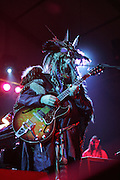 Dr. John performs at Bonnaroo 2006.  Photo by Bryan Rinnert