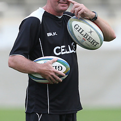 DURBAN, SOUTH AFRICA - MARCH 07:  during the Cell C Sharks captains run at Growthpoint Kings Park on March 07, 2014 in Durban, South Africa. (Photo by Steve Haag/Gallo Images)