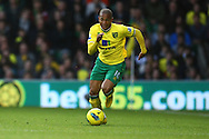 Picture by Paul Chesterton/Focus Images Ltd.  07904 640267.26/11/11.Simeon Jackson of Norwich in action during the Barclays Premier League match at Carrow Road Stadium, Norwich.