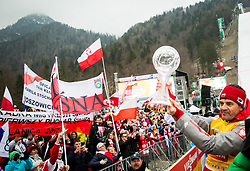 Stefan Horngacher, coach of Team Poland celebrates after the Ski Flying Hill Men's Individual Competition at Day 4 of FIS Ski Jumping World Cup Final 2017, on March 26, 2017 in Planica, Slovenia. Photo by Vid Ponikvar / Sportida